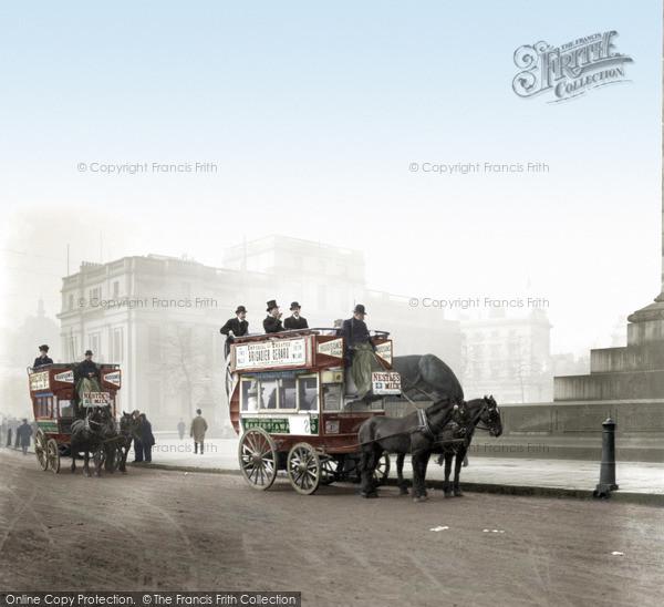 London, Trafalgar Square c.1890