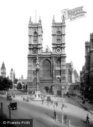 London, Westminster Abbey c1920