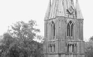 Long Sutton, St Mary's Church c.1950