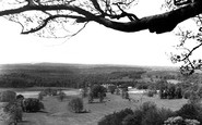 Longleat, view from Heavens Gate c1960
