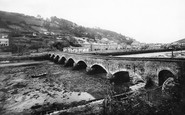 Looe, the Bridge 1888