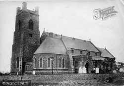 Lowestoft, Kirkley Church 1896
