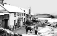 Lynmouth, Countisbury Hill, The Blue Ball Inn 1907