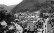 Lynmouth, From Mars Hill c.1950