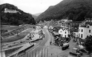 Lynmouth, From Mars Hill c.1960