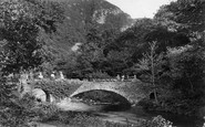 Lynmouth, Stone Bridge To Watersmeet 1907