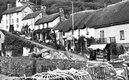 Lynmouth, The Harbourside c.1955