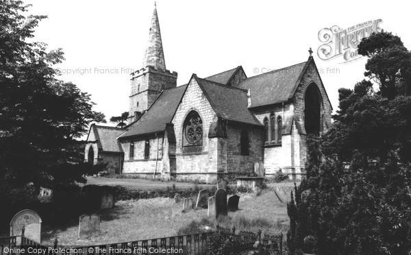 Maltby, St Bartholomew's Church c.1965