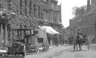 Market Drayton, the Corbet Arms Hotel 1911