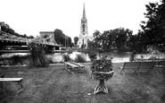 Marlow, All Saints Church And Bridge 1890