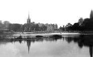 Marlow, Below The Weir c.1881