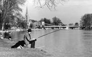 Marlow, Fishermen c.1955