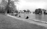 Marlow, River Thames c.1955