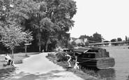 Marlow, The Embankment c.1955