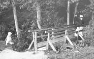 Marlow, The Rustic Bridge 1890