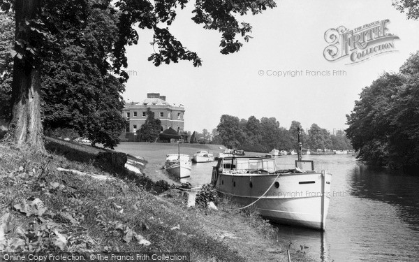 Marlow The Thames By Harleyford Manor Francis Frith