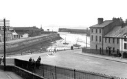 Maryport, Harbour c.1955