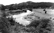 Meifod, Broniarth Bridge c1955