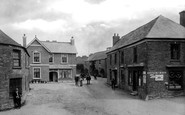 Menheniot, Village & Post Office 1912