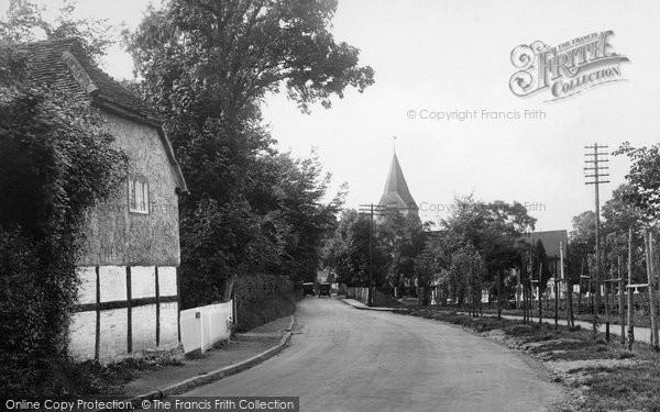 Merrow, Church Lane 1927