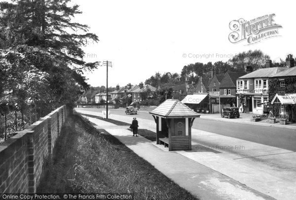 Merrow, Epsom Road 1936