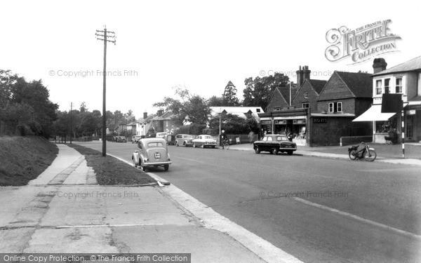 Merrow, Epsom Road c.1955