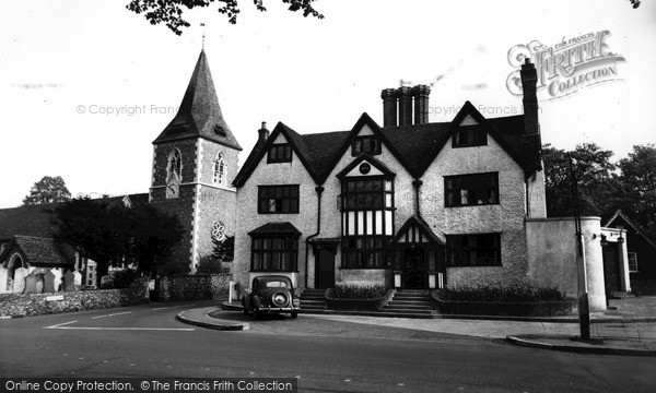 Merrow, St John's Church And House c.1960