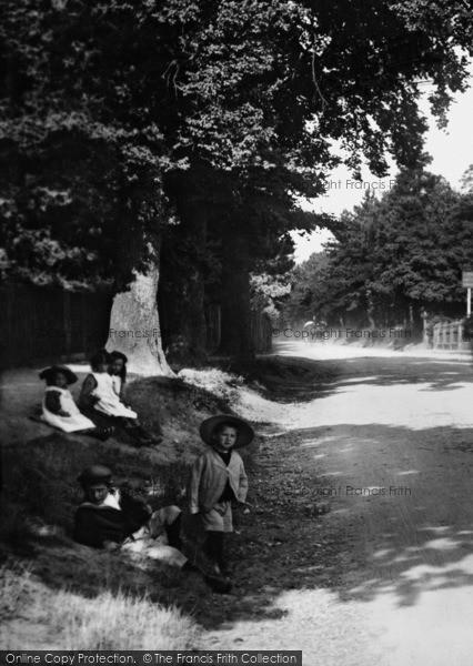 Merrow, Village Children 1904