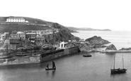 Mevagissey, East Cliff 1890