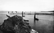 Mevagissey, Fishing Boats 1890