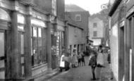 Mevagissey, Fore Street 1890