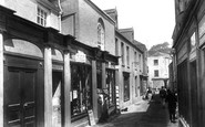 Mevagissey, Fore Street, The Post Office 1904