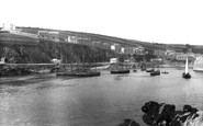 Mevagissey, From The Pier 1898