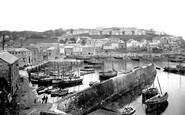 Mevagissey, Harbour 1924