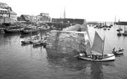 Mevagissey, Harbour 1935