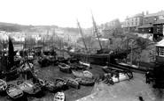 Mevagissey, Inner Harbour 1890