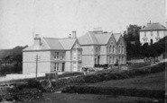 Mevagissey, Polstreath, Cliff Road 1904