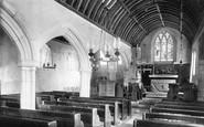 Mevagissey, The Church Interior 1890