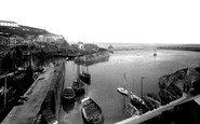 Mevagissey, The Harbour 1890