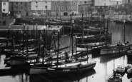 Mevagissey, The Harbour, Fishing Boats 1924