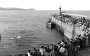 Mevagissey, Water Polo c.1955