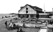 Middleton-On-Sea, Pool and Promenade, Southdean Holiday Centre c1960