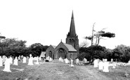 Millom, St George's Church c1965