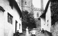 Minehead, Church Steps 1903