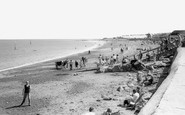 Minehead, the Beach c1960