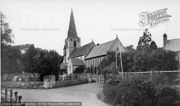 Mitford, Church Of St Mary Magdalene1954