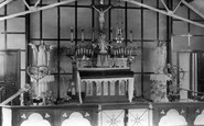Moreton, Catholic Church Interior c.1950