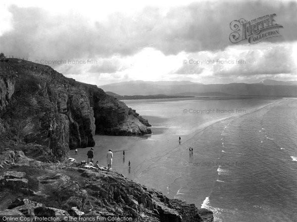 Morfa Bychan, Black Rock Sands 1931