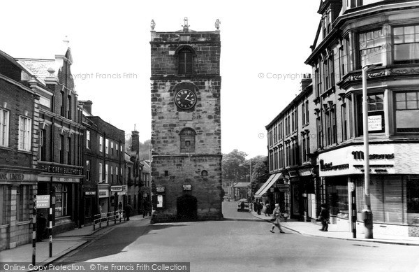 Morpeth, The Clock Tower c.1965