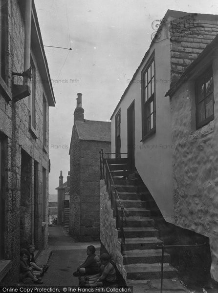 Mousehole, Duck Street 1931